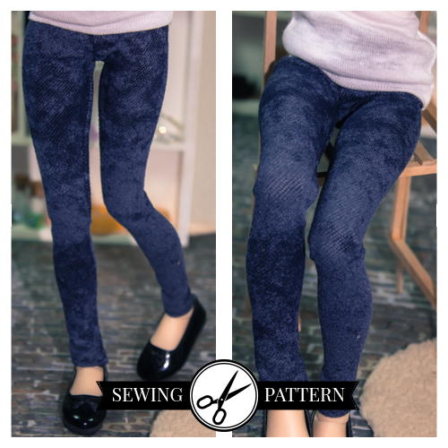 Blythe - Leggings Sewing Pattern