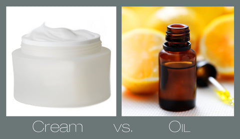 Cream Vs. Oil