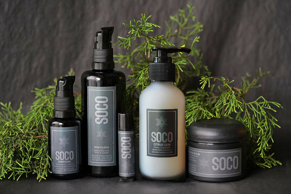 HOLIDAY GIFT SET - Brighten the Holidays with a little SOCO Botanicals