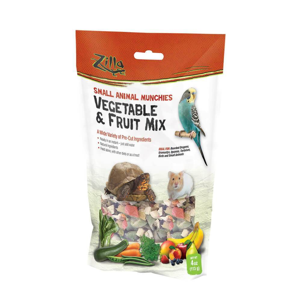Zilla Reptile Munchies Vegetable and Fruit Mix