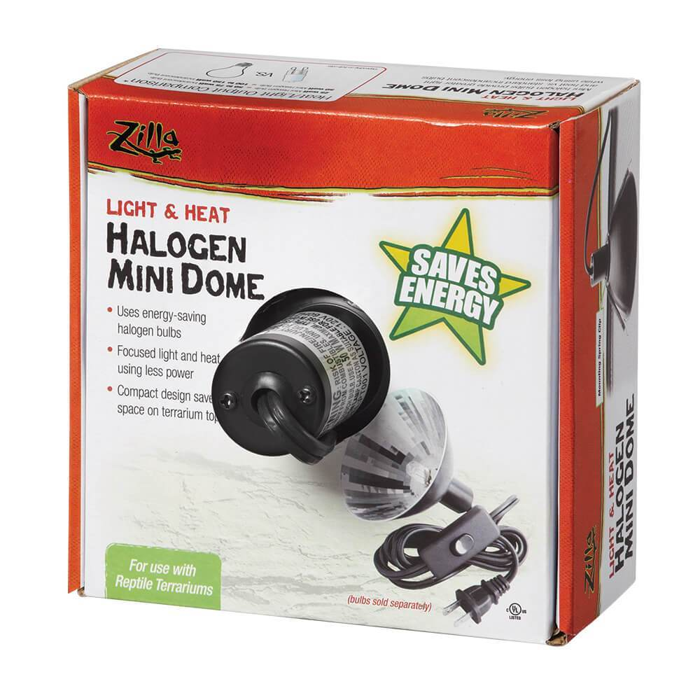 Zilla Halogen Mini Dome