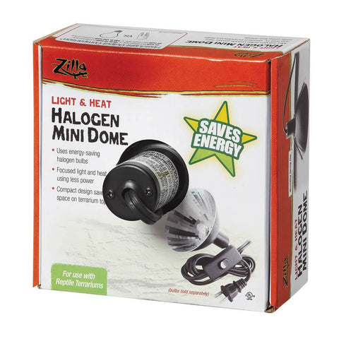 Zilla Halogen Mini Dome - DubiaRoaches.com
