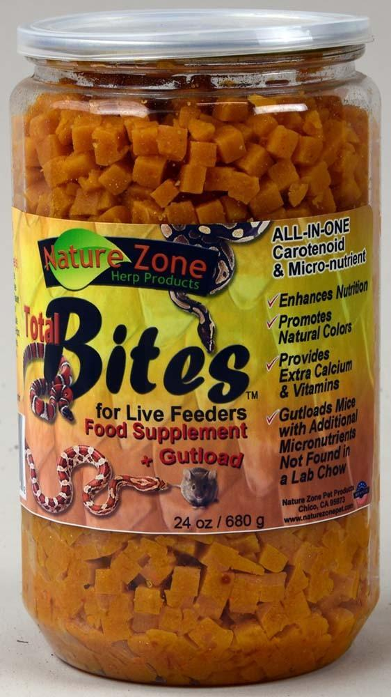Nature Zone Total Bites for Live Feeders, 24 oz