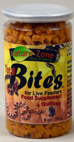Nature Zone Total Bites for Live Feeders 9oz - DubiaRoaches.com