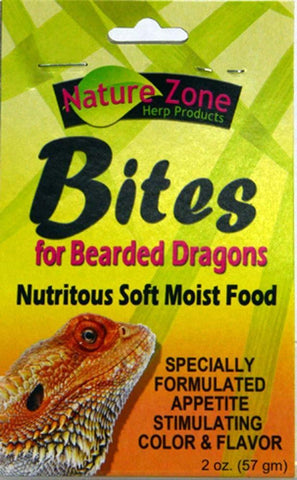 Nature Zone Bites for Bearded Dragons 2oz - DubiaRoaches.com