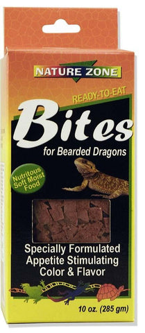 Nature Zone Bites for Bearded Dragons 9oz - DubiaRoaches.com