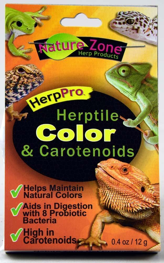 Nature Zone Herptile Color & Carotenoids, 0.4 oz