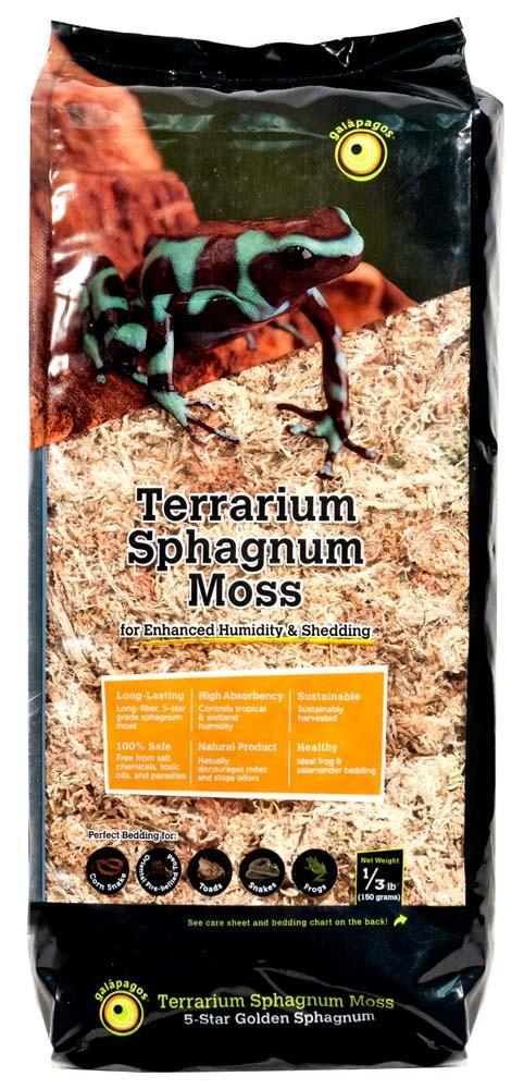 Galapagos Blond Sphagnum Moss, 1/3 lb