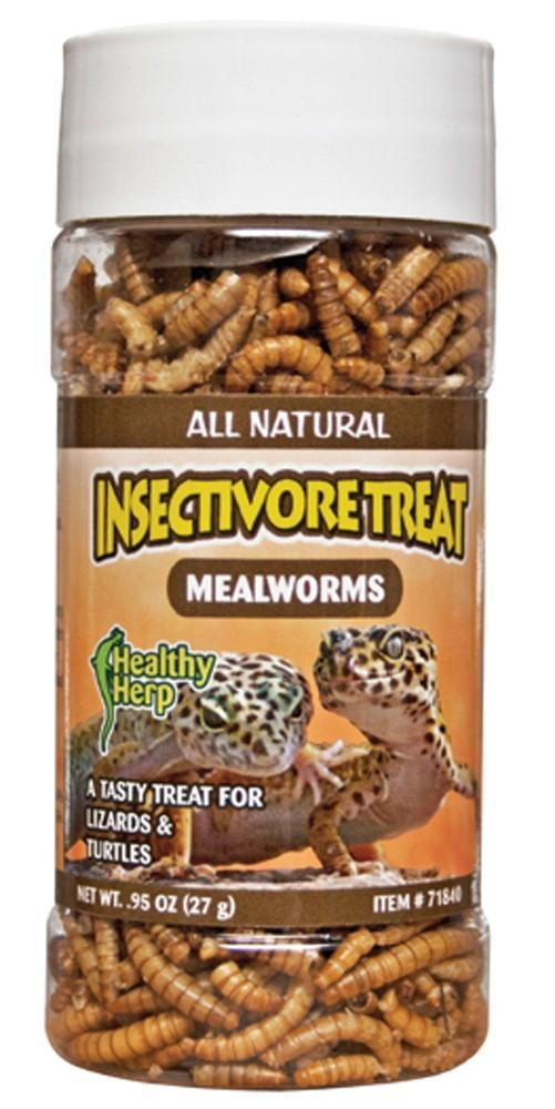 Healthy Herp Insectivore Treat Mealworms