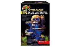 Zoo Med ReptiRapids LED Skull Waterfall Small Zoo Med