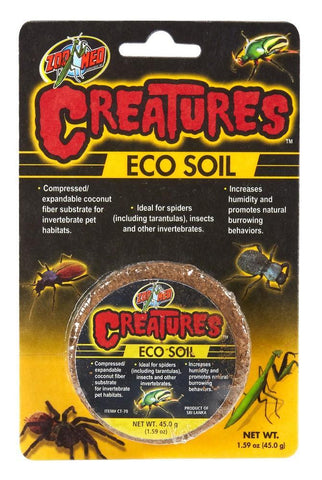 Zoo Med Creatures™ Eco Soil - DubiaRoaches.com