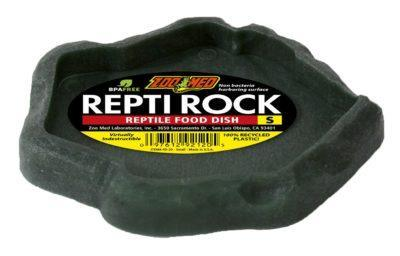Zoo Med Repti Rock Food Dish Small - DubiaRoaches.com