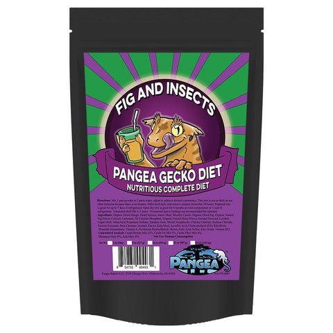 Pangea Gecko Diet Fig & Insects - DubiaRoaches.com