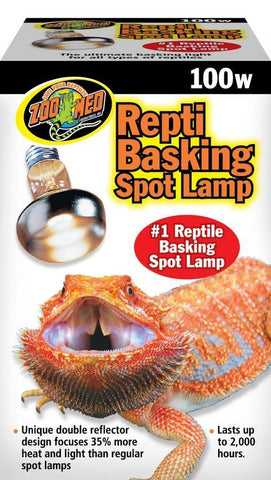 Zoo Med Repti Basking Spot® Lamp 100W - DubiaRoaches.com
