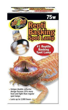 Zoo Med Repti Basking Spot® Lamp 75W - DubiaRoaches.com