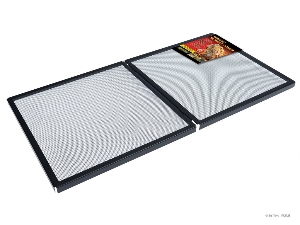 Exo Terra Hinged Screen Cover, 40 Breeder / 50 Gallon
