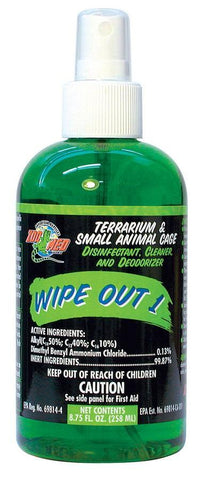 Zoo Med Wipe Out 1, 8.75oz
