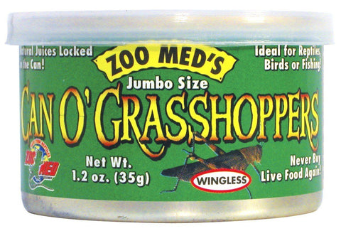 Zoo Med Can O' Grasshoppers - DubiaRoaches.com