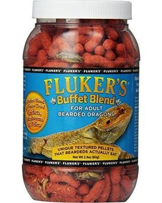 Fluker's Buffet Blend Adult Bearded Dragon 7.5oz - DubiaRoaches.com