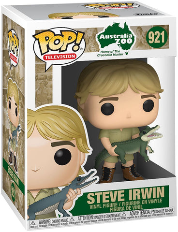 Crocodile Hunter Steve Irwin Pop! Vinyl Figure - DubiaRoaches.com