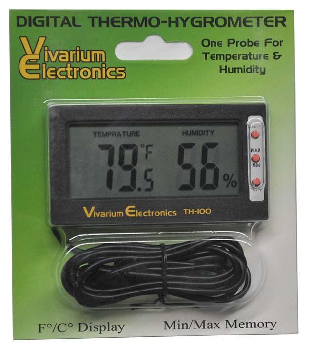Vivarium Electronics Digital Thermometer Vivarium Electronics