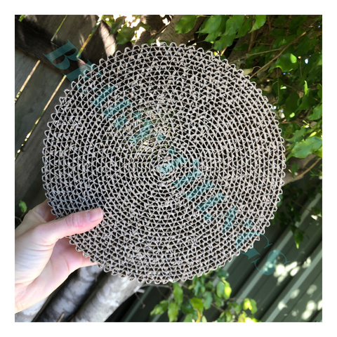Corrugated Cardboard Foraging Circle Large