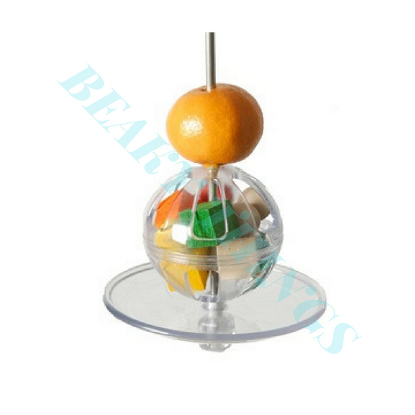Fillable 3 inch Ball with Kabob