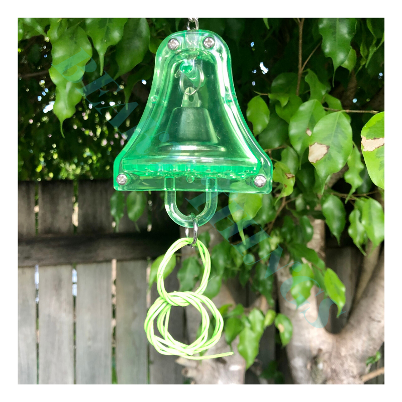 Kazoo Acrylic Bell with Wicker Rings