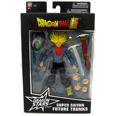 Dragon Ball Super Dragon Stars Super Saiyan Trunks Fusion Zumasu Baf Action Figure Wave 3