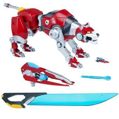 Fire Magma Beam Voltron Legendary Defender Red Lion Combinable Action Figure