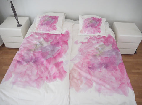 "BEDDING SET ""PINK ICE-CREAM"""
