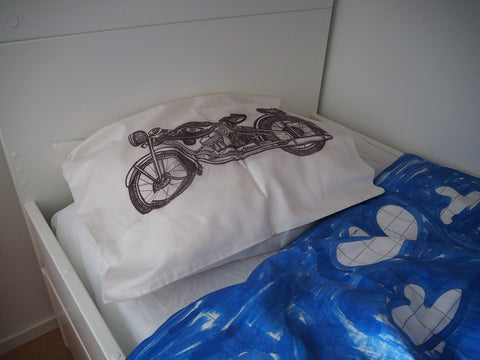 PILLOWCASE MOTORCYCLE