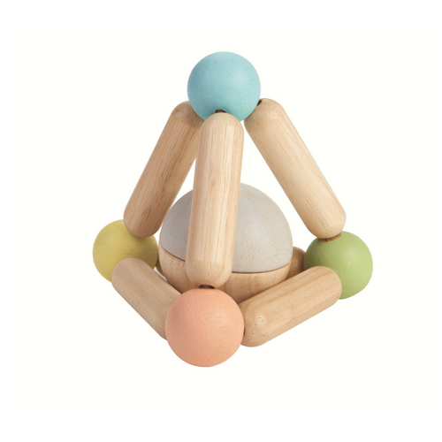 Clutching Toy - Triangle - Pastel - 5256