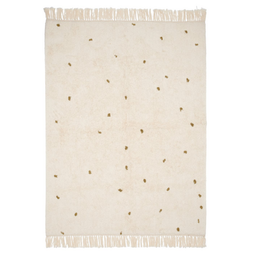 Rug Dot - Pure Natural/Olive - 170x120cm - LD