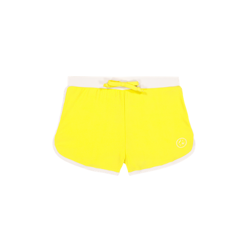 Swimming Shorts Anti-UV - Yellow/White - Ki Et La