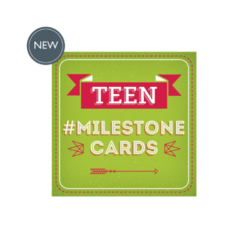Teen Milestone Cards