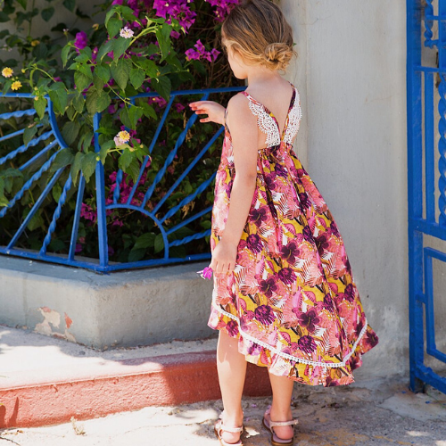 Gozo Tropical Dress - Gaia & Nina