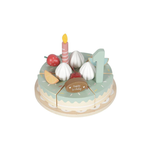 Wooden Birthday Cake - Little Dutch