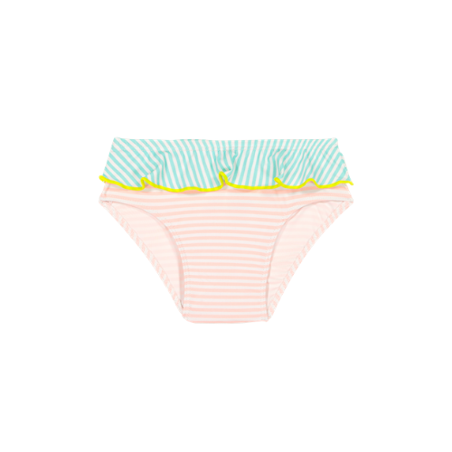 Swimming Pants  Anti-UV - Pink/white  striped - Ki Et La