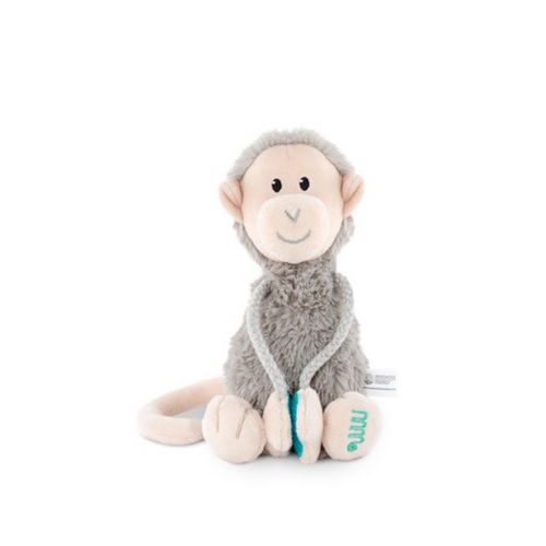 Plush Monkey With Velcro Arms - Small soft toy