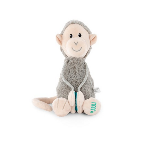 Plush Monkey With Velcro Arms - Medium soft toy