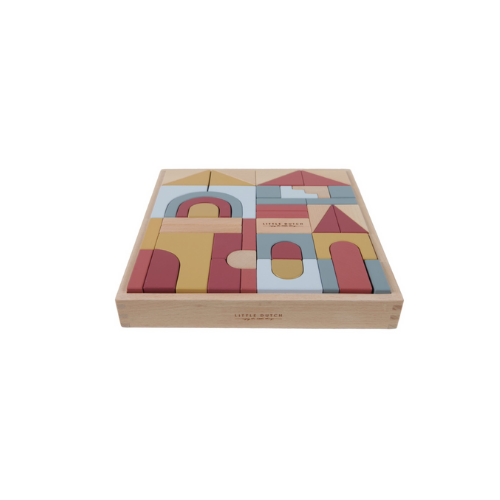 Wooden building blocks Pure & Nature - LD