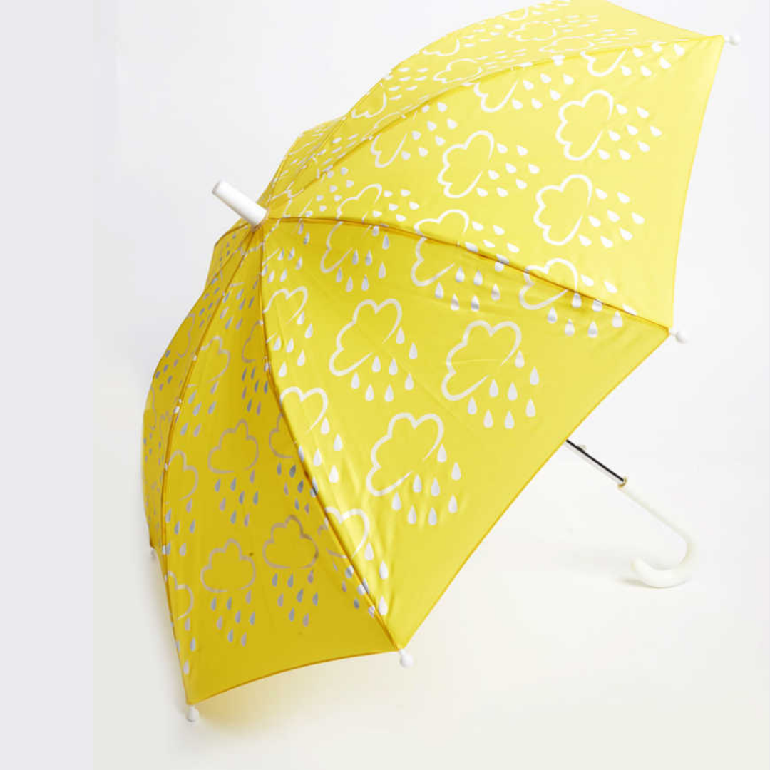 Little kids colour-revealing umbrella  - Yellow