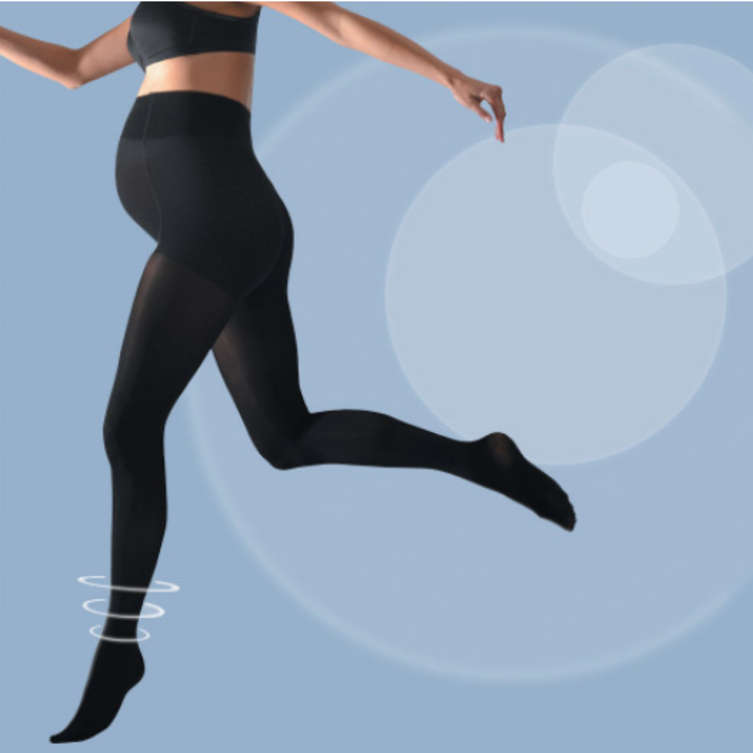 Maternity tights - Activsoft - Black - CC