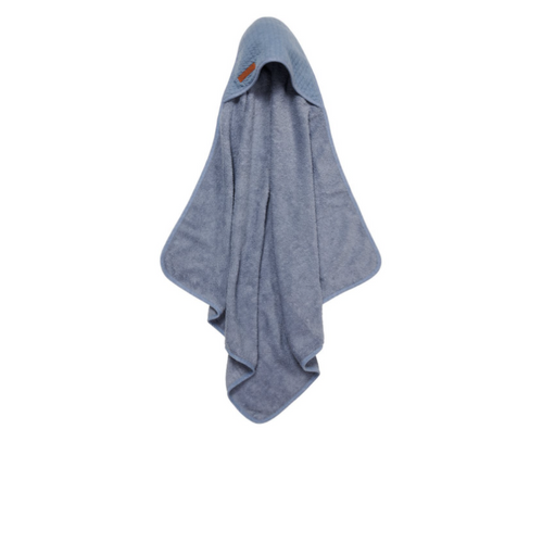 Hooded towel - Pure Blue - LD