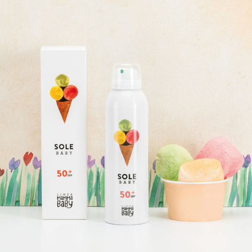 Baby Sunscreen SPF50+ 150ml - Linea MammaBaby