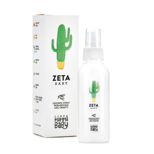 Baby Zeta Insect Repellant 100 ml - Linea MammaBaby