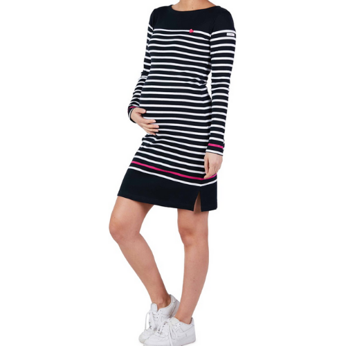 Striped dress - Sailor - Navy - CC