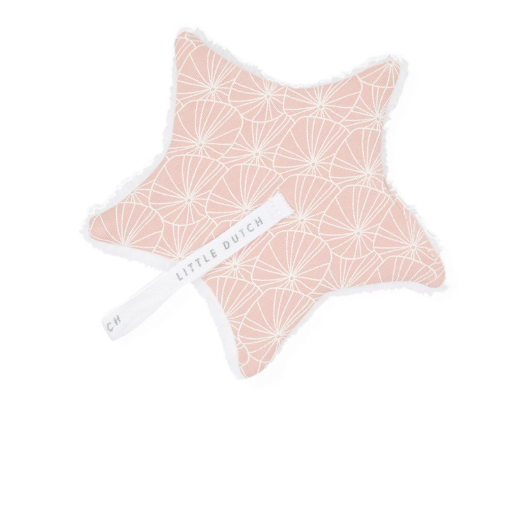 Pacifier Cloth - Lily leaves - Pink - LD