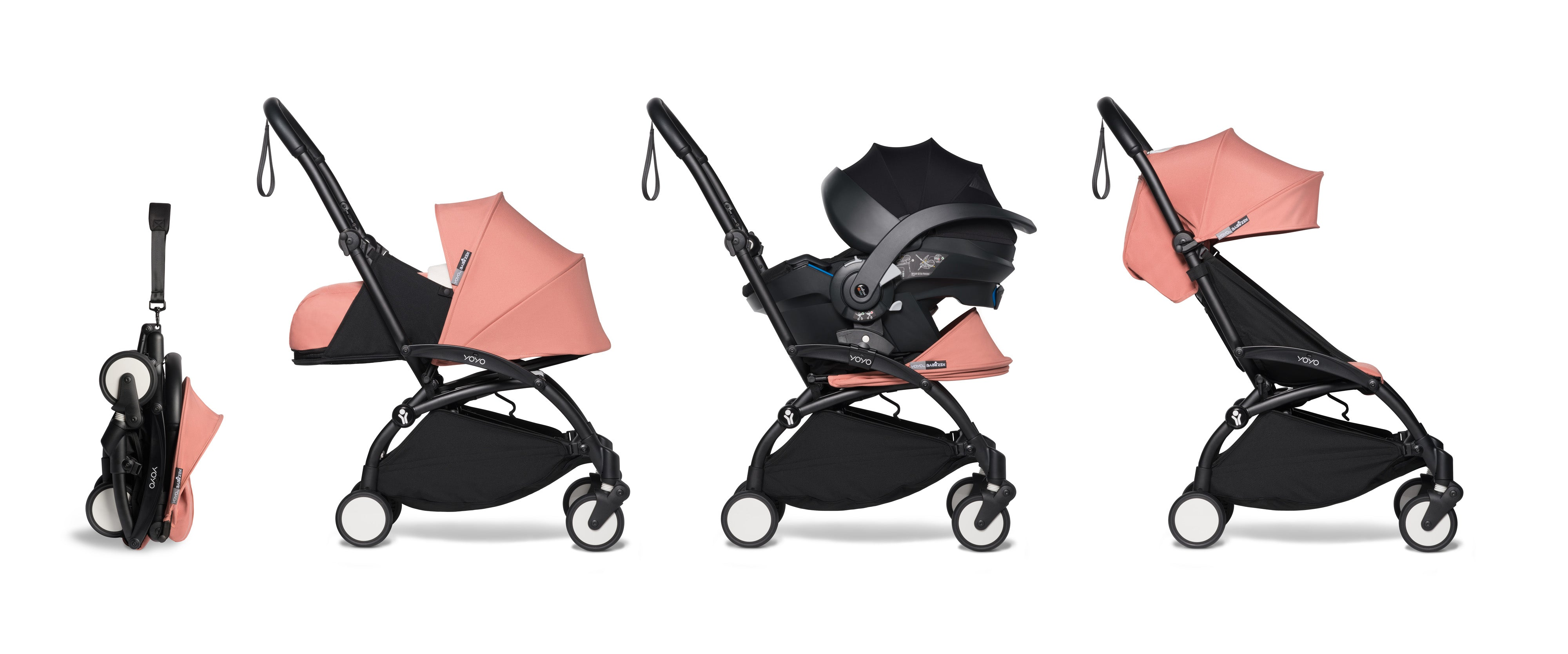 all-in-one BABYZEN stroller YOYO² 0+, car seat and 6+